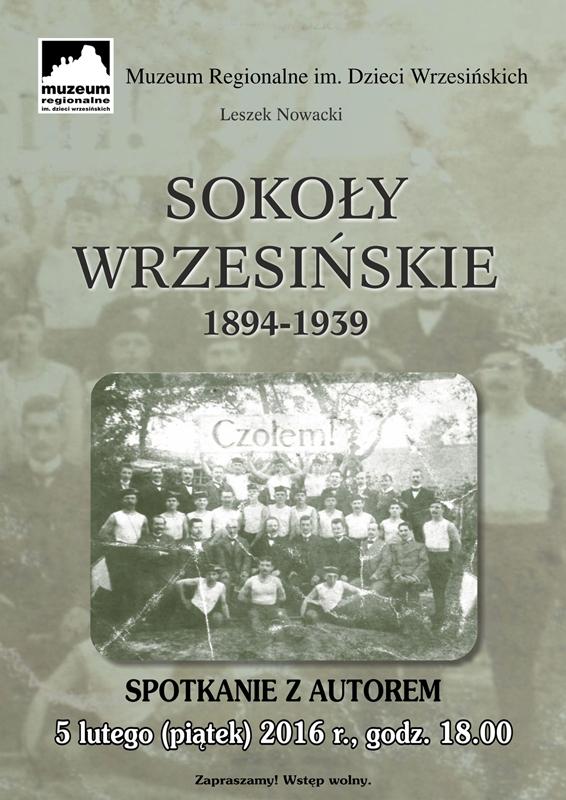 Sokoły Wrzesińskie, spotkanie z autorem